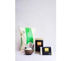 강화섬쌀 친환경 현미 4kg